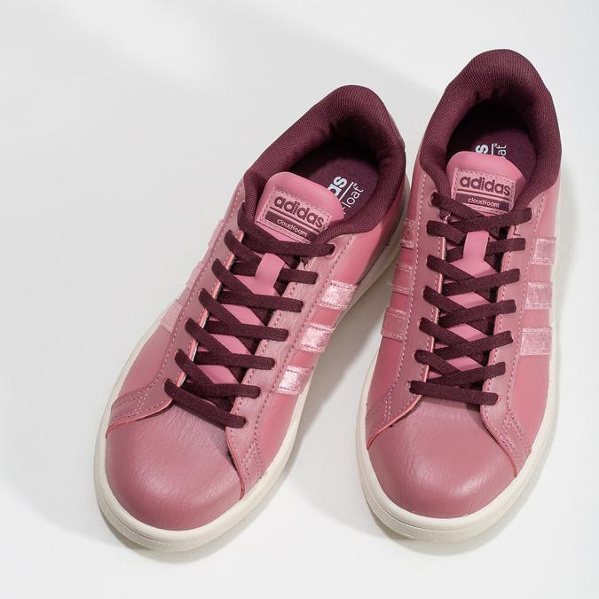 Adidas Ružové dámske ležérne tenisky - Mestský štýl  fecf967f193