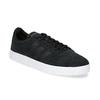 Čierne pánske kožené tenisky adidas, čierna, 803-6119 - 13