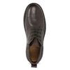 Kožená pánska členková obuv comfit, hnedá, 896-4701 - 17