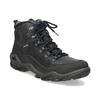 Pánska kožená outdoor obuv weinbrenner, čierna, 896-6706 - 13