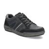 Kožené pánske šedé tenisky bata, modrá, 846-9714 - 13