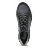Kožené pánske šedé tenisky bata, modrá, 846-9714 - 17
