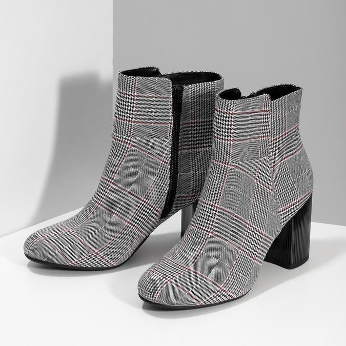 Členková dámska obuv so vzorom bata-red-label, viacfarebné, 799-1628 - 16