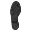 Dámske čierne snehule s kožúškom bata, čierna, 592-6602 - 18