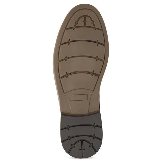 Hnedá členková obuv pánska s pružením bata-red-label, hnedá, 821-3610 - 18