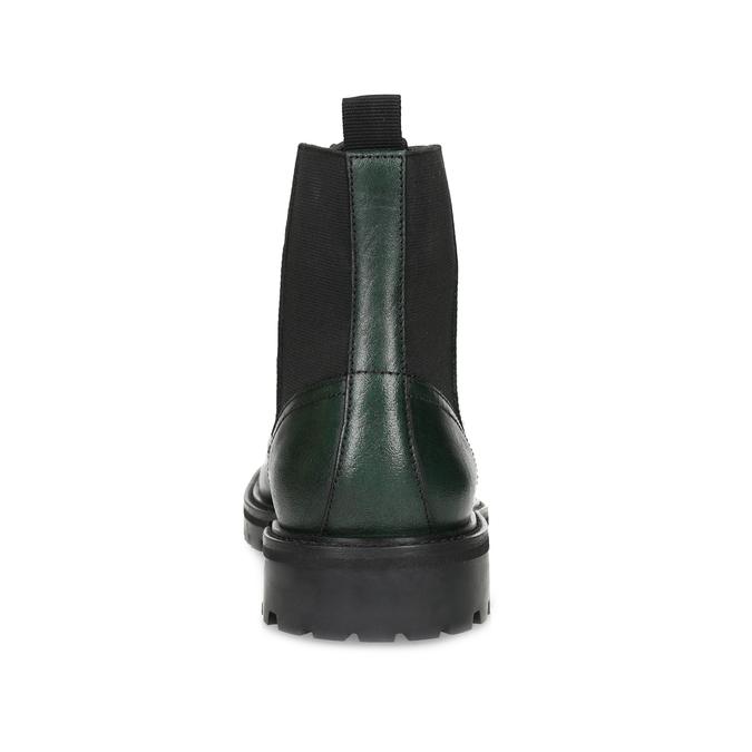 Pánska členková obuv tmavozelená bata, zelená, 896-7722 - 15