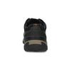 Pánske kožené ležérne poltopánky s prešívaním clarks, čierna, 826-6070 - 15