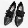 Čierne lodičky s ozdobným remienkom bata-b-flex, čierna, 721-6620 - 16