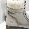 Kožená zimná obuv s kožúškom weinbrenner, béžová, 696-3336 - 16