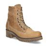 Dámska hnedá kožená členková obuv weinbrenner, hnedá, 696-3668 - 13