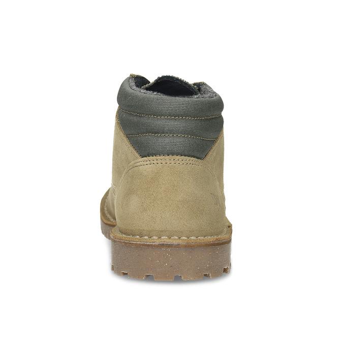 Kožená béžová pánska členková obuv weinbrenner, béžová, 896-8630 - 15