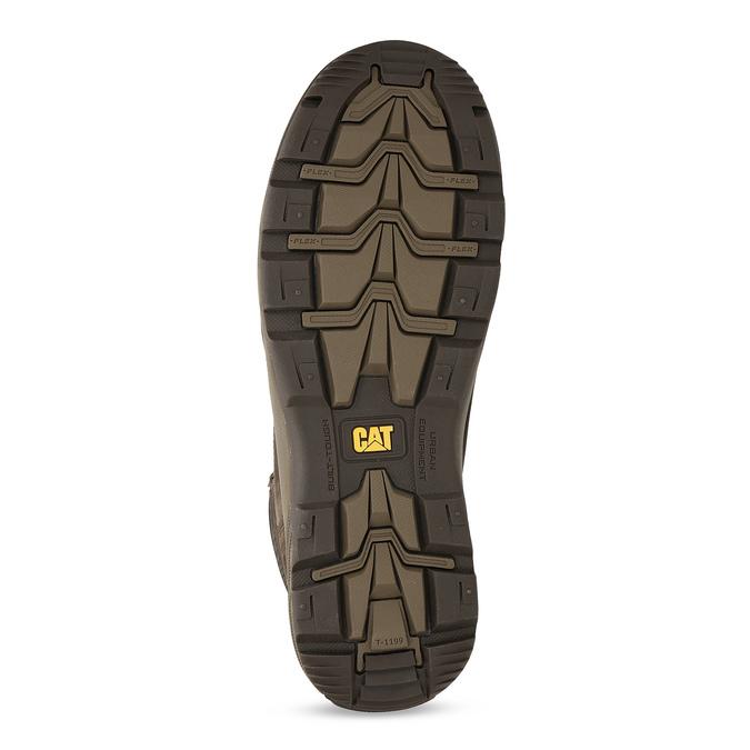 Kožená hnedá pánska outdoorová obuv caterpillar, hnedá, 806-4108 - 18