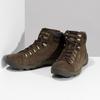 Kožená hnedá pánska outdoorová obuv caterpillar, hnedá, 806-4108 - 16