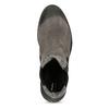 Šedá dámska kožená Chelsea obuv bata, šedá, 593-2617 - 17