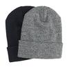 Pletená čiapka s ohrnutým lemom bata, viacfarebné, 909-0490 - 13