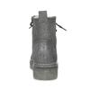 Členková dámska kožená zimná obuv bata, šedá, 596-2713 - 15