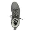 Členková dámska kožená zimná obuv bata, šedá, 596-2713 - 17