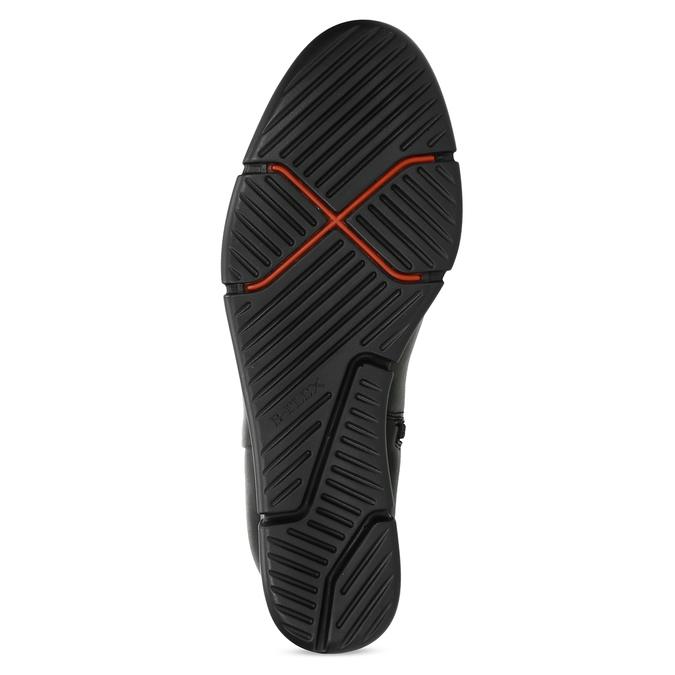 Dámska členková obuv na kline strieborná bata-b-flex, strieborná, 799-2642 - 18