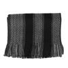 Pánsky šedo-čierny pruhovaný šál bata, šedá, 909-2716 - 13
