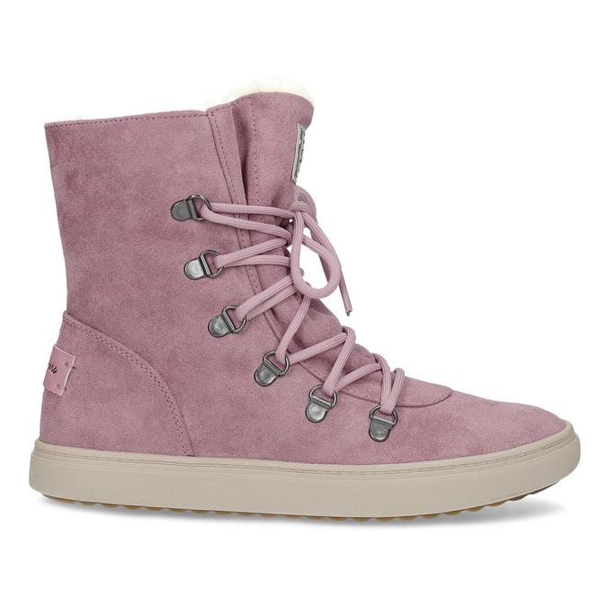 Dámska ružová zimná obuv so zateplením skechers, ružová, 503-5132 - 19