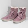 Dámska ružová zimná obuv so zateplením skechers, ružová, 503-5132 - 16