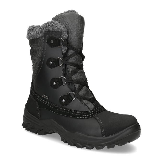 Pánske zimné snehule so zateplením weinbrenner, čierna, 896-6730 - 13