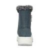 Dámske kožené snehule modré weinbrenner, modrá, 593-9603 - 15