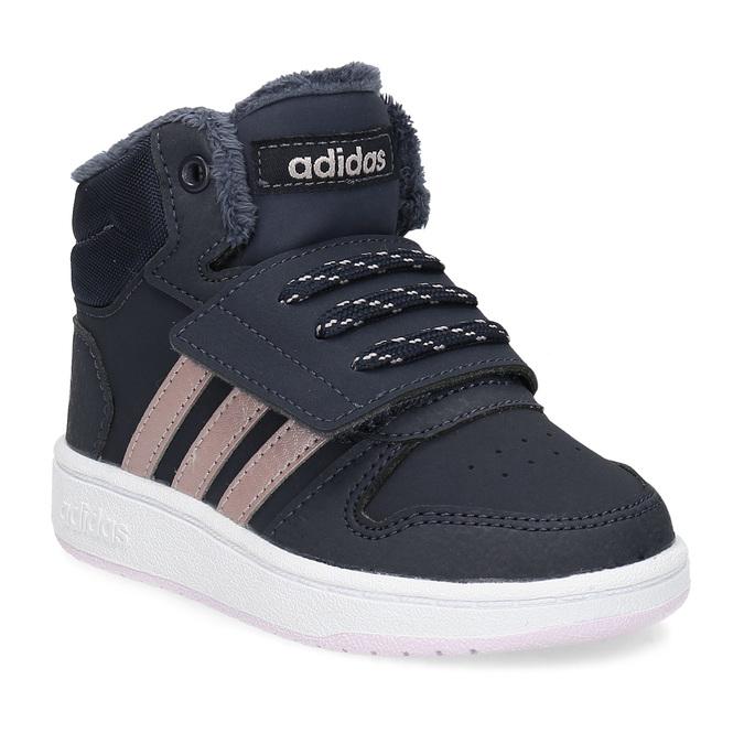 51c829ce6130c Detské zimné členkové tenisky modré adidas, modrá, 101-9197 - 13