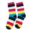 Vysoké detské pruhované ponožky bata, viacfarebné, 919-5688 - 26