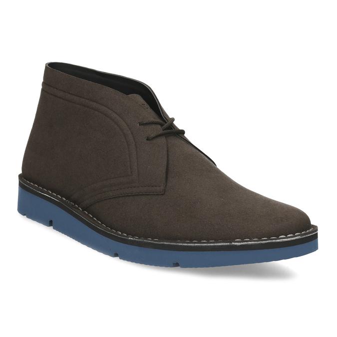 Hnedá pánska členková obuv bata-b-flex, hnedá, 899-4600 - 13