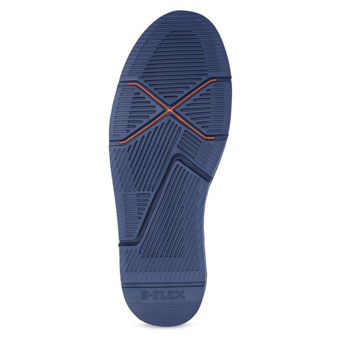 Hnedá pánska členková obuv bata-b-flex, hnedá, 899-4600 - 18