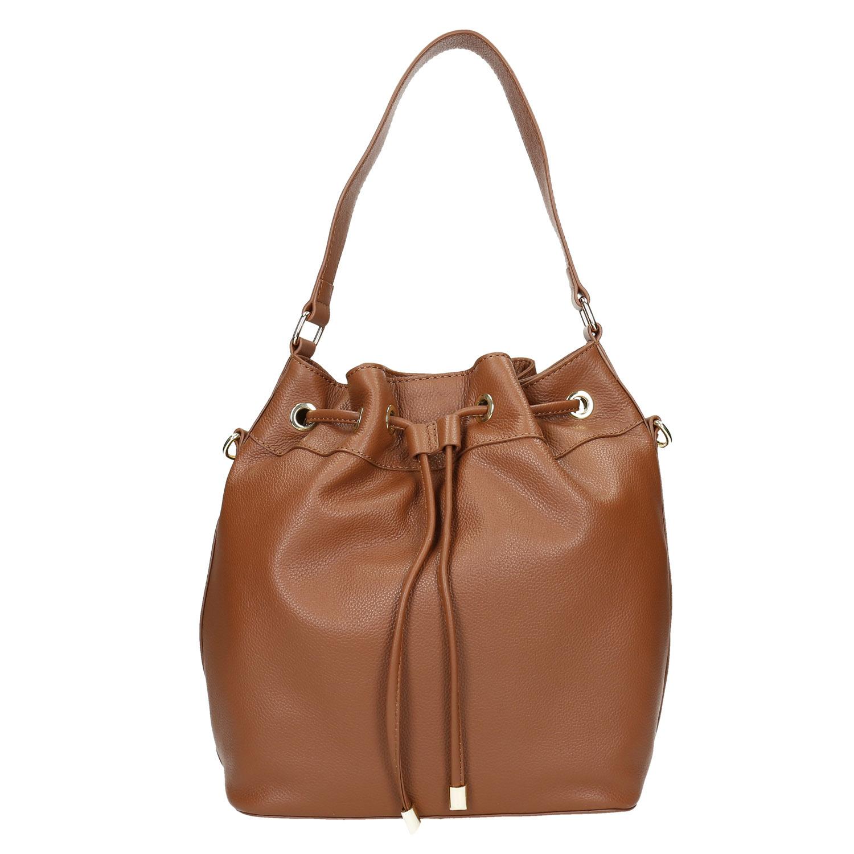 Baťa Kožená Bucket Bag kabelka - Stredné kabelky  85b07a975b6