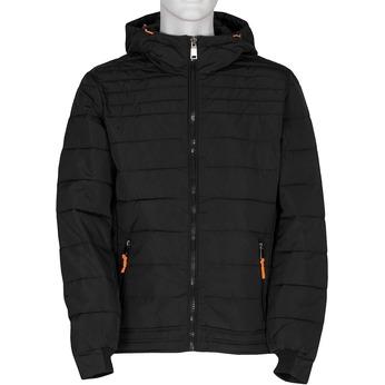 Pánska čierna prešívaná bunda bata, čierna, 979-6430 - 13