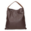 Dámska kožená Hobo kabelka bata, hnedá, 964-4236 - 16