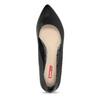 Čierne baleríny do špičky bata-red-label, čierna, 521-6644 - 17