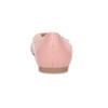 Dámske baleríny do špičky ružové bata-red-label, ružová, 521-5644 - 15