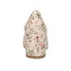 Dámske lodičky s kvetinovým vzorom bata-red-label, viacfarebné, 621-0653 - 15