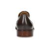 Kožené hnedé Oxford poltopánky s perforáciou bata, hnedá, 826-2834 - 15