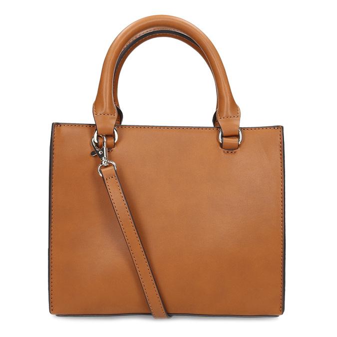Dámska kabelka so zipsami hnedá bata-red-label, hnedá, 961-3956 - 16