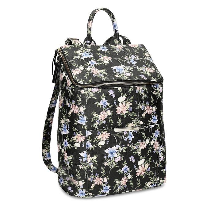 Mestský batoh s kvetinovým vzorom bata-red-label, viacfarebné, 961-0948 - 13