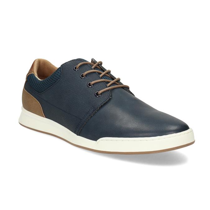 Tmavomodré ležérne tenisky bata-red-label, modrá, 841-9606 - 13