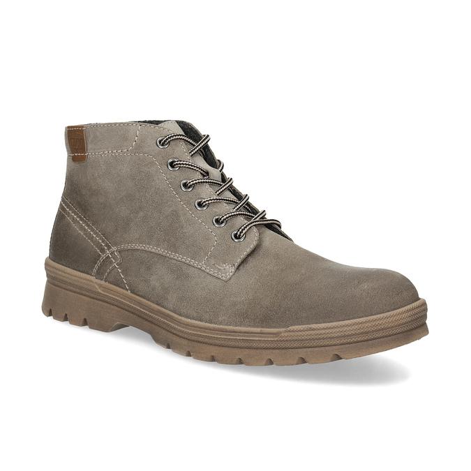 Pánska zimná obuv weinbrenner, béžová, 896-8107 - 13