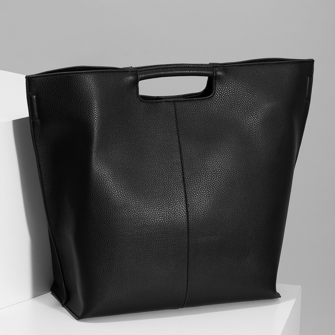 Čierna dámska kabelka bata-red-label, čierna, 961-6958 - 17