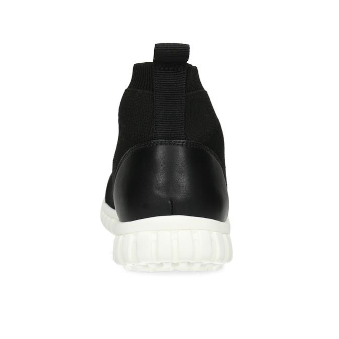Členková dámska čierna obuv bata-red-label, čierna, 599-6627 - 15