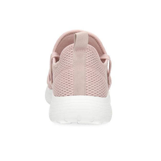 Ružové dámske tenisky na bielej podrážke bata-red-label, ružová, 519-5607 - 15