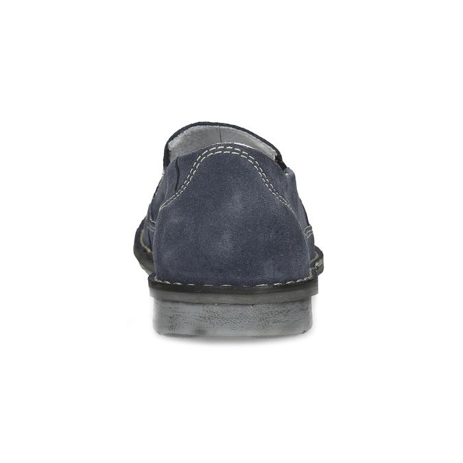 Tmavomodré pánske mokasíny comfit, modrá, 833-9651 - 15