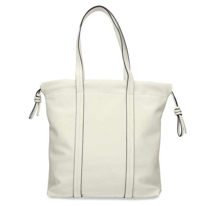 Béžová dámská kabelka s jemnou perforáciou bata, béžová, 961-8933 - 16