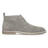Pánske kožené Desert Boots šedé bata, šedá, 823-8655 - 19