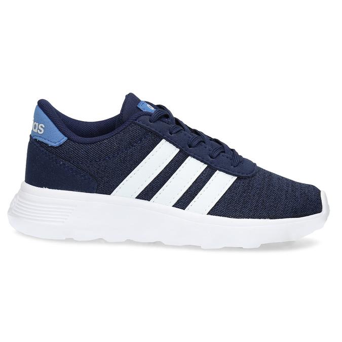 Úpletové modré tenisky chlapčenské adidas, modrá, 309-9209 - 19