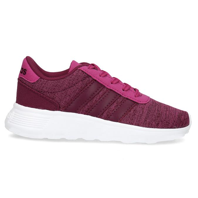 Detské ružové tenisky v športovom štýle adidas, ružová, 309-5209 - 19